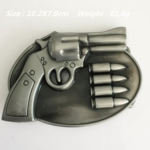 Gun Metal belt buckle