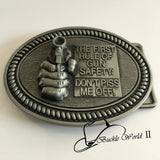 3D Belt Buckle For Men