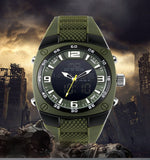 Military Digital Analog LED Wrist Watch (3 colors)