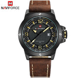 Genuine Leather Strap Army Watch (4 colors)
