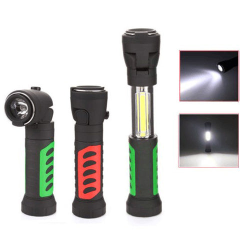 3 in 1  Stretchable 10W COB LED Torch With Strong Magnet