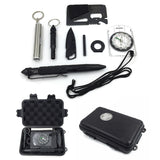 8 in 1 Professional Multi-function Survival Emergency Kit