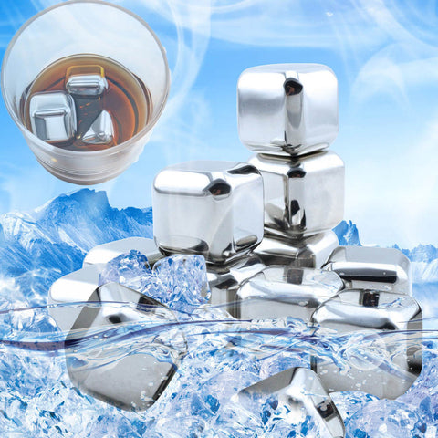 Stainless Steel Drink Chilling Cubes