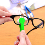 2Pcs Eyeglasses handle brush