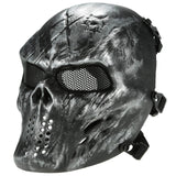 Airsoft Tactical Face Mask (7 variants) - Indigo-Temple