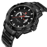 Full Steel Men Sports Watch