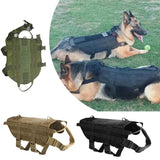 Tactical K9 Adjustable Molle Vest - Indigo-Temple