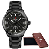 Luxury Full Steel Wrist Watch (5 colors)