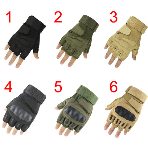 BattleWolf Half Finger Gloves