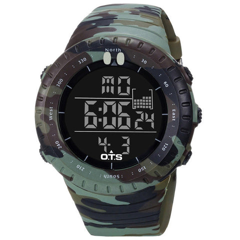 Camouflage Tactical Multifunction Watch
