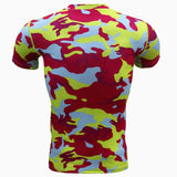 Camouflage Breathable Tactical T-Shirt