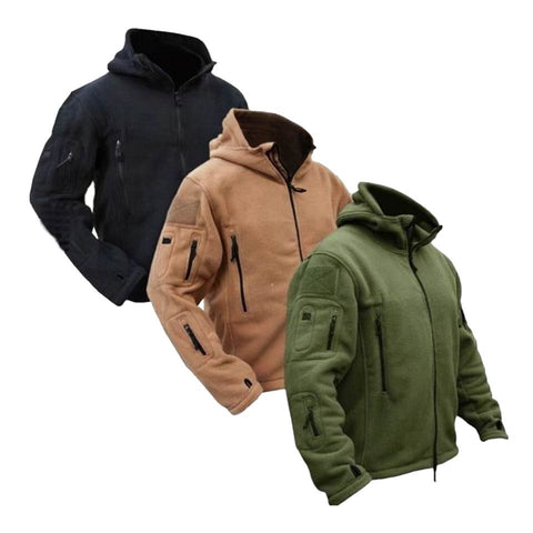 TACTICAL FLEECE JACKET (4 COLORS) - Indigo-Temple