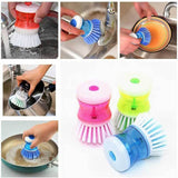 Dishpansoap(TM)  Dish & Pot Brush (2pcs)