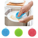 Multi-function Silicone Sponge Scrubber (3 pcs set)