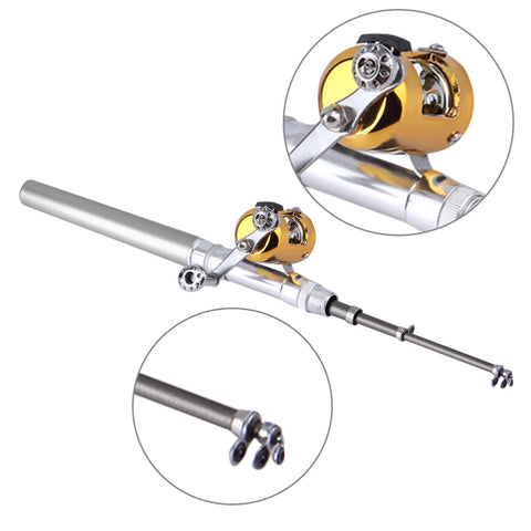Ultra-Portable Mini Fishing Rod With Reel