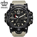 ZR - 660 SMAEL™ Jungle Edition Waterproof & Shockproof Tactical Watches - Indigo-Temple