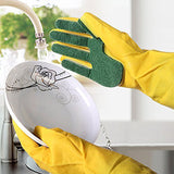 SCRUB SPONGE CLEANING GLOVES