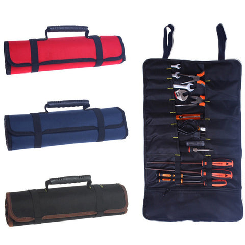 Multifunctional Rolling Utility Tool Bag