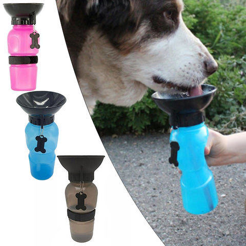 Aquadog - Travel Water Bottle For Dogs - Indigo-Temple