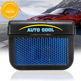 Solar-Powered, Window-Mounted Automatic Car Cooler - Indigo-Temple
