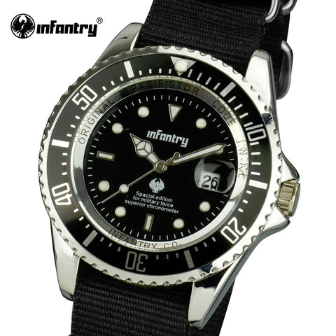 "INFANTRY™ ""COMMANDER"" Army Watch"