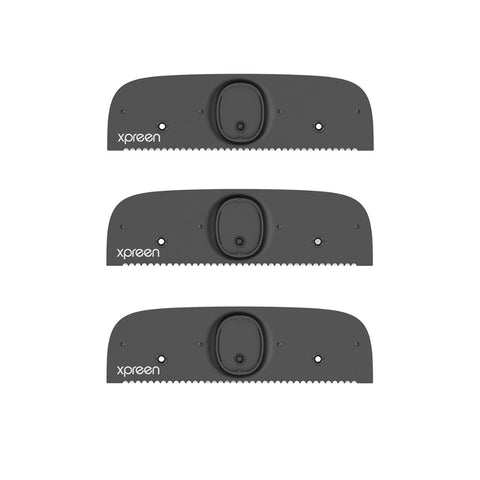 3Pcs XPREEN High-quality Replacement Razor blades for Adjustable Back Razor Stretchable Back Shavers for Men