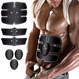 FITBody™ EMS Abs & Arms Trainer - Indigo-Temple