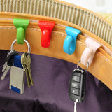 BAG INNER HOOK  KEY CLIPS (6 pcs)