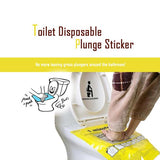 Easyplunge™ Unclogging Toilet Sticker  Plunger (2pcs)