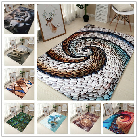 Decorative & Creative 3d Printing Carpets