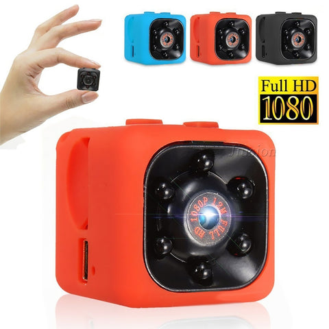 Full-HD Mini Spy Camera with Motion Detection
