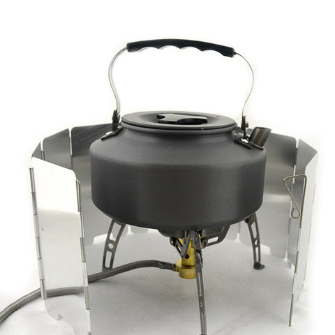 Strong Durable 9 Plates Foldable Stove Windshield
