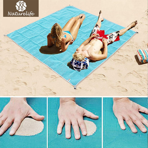 SAND-FREE Dual-Layer Beach Blanket