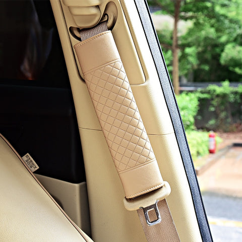 Luxurious Seat Belt Shoulder Cushions