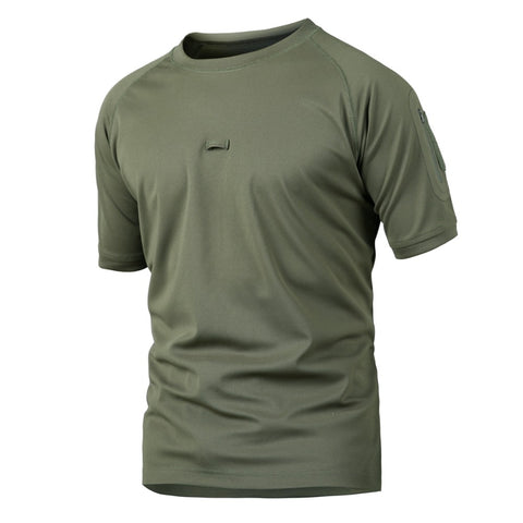Summer Army  Breathable Camo Military T-Shirt