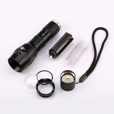 CREE XM-L2 Tactical LED Flashlight 4000 LM Zoomable