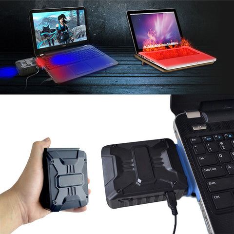 USB Laptop Cooler - Indigo-Temple