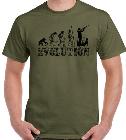 Evolution Of Hunting T-Shirt
