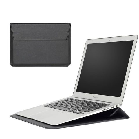 Leather Laptop Case with Stand Function