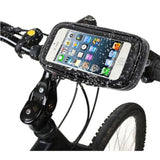Motorcycle / Bicycle Waterproof 5.5 inch Phone Holder - Indigo-Temple