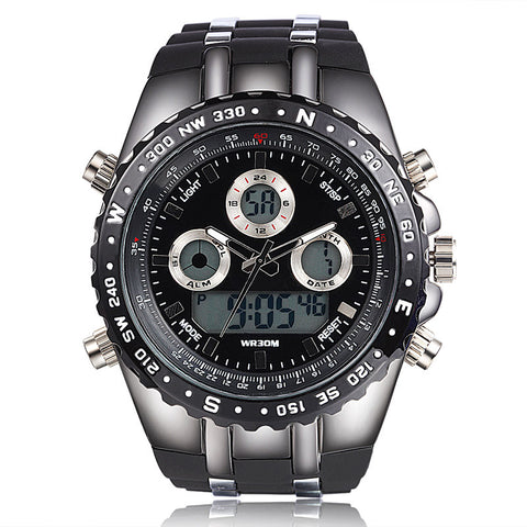 Led Digital Military Wristwatch (3 colors)