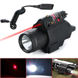 Tactical Red Laser Insight &Torch Light For  Handgun