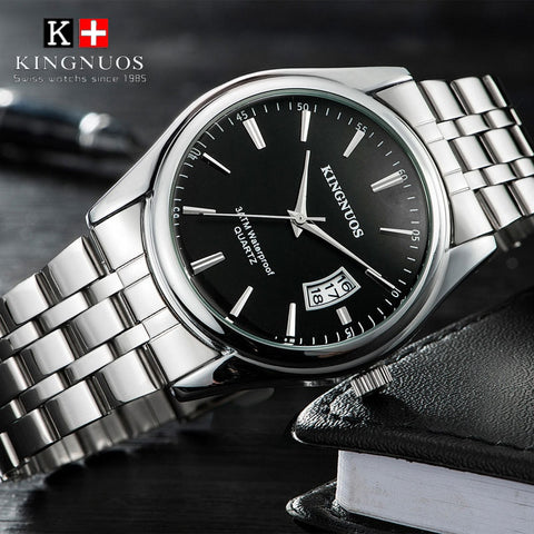 KINGNUOS™ Men's Luxury Business Watch