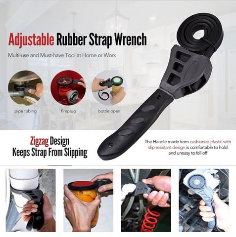 UNIVERSAL ADJUSTABLE CONSTRICTING WRENCH