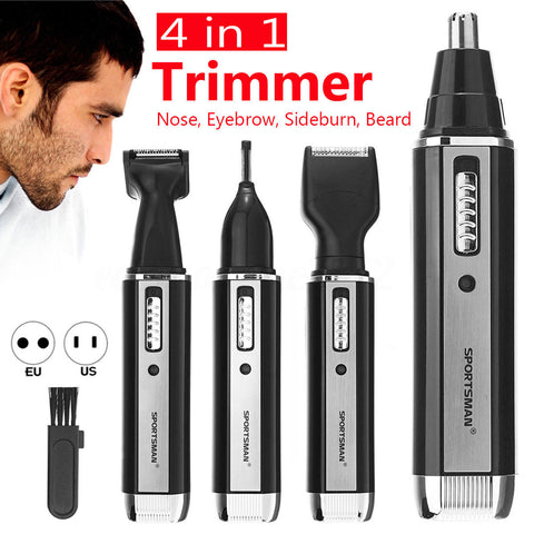 4 In 1 Rechargeable Electric Shaver & Trimmer Set - Indigo-Temple