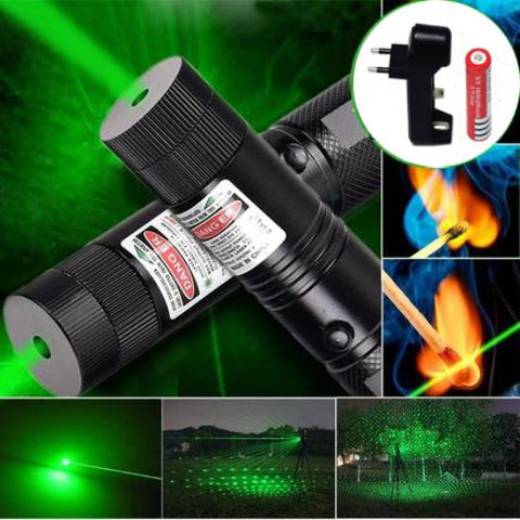 High Power Tact Laser Pointer Survival Tool