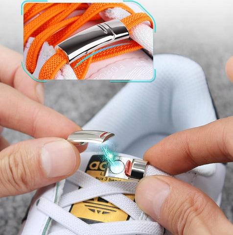 No-Tie™ Magnetic Lock Elastic Shoe Laces