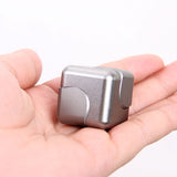 Anti-stress Gyro Aluminum Cube Spinner