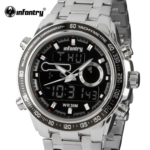Infantry™ IN-097 Stainless Steel Watch