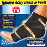 Compression Swelling\varicosity\pain Relief Socks - Indigo-Temple